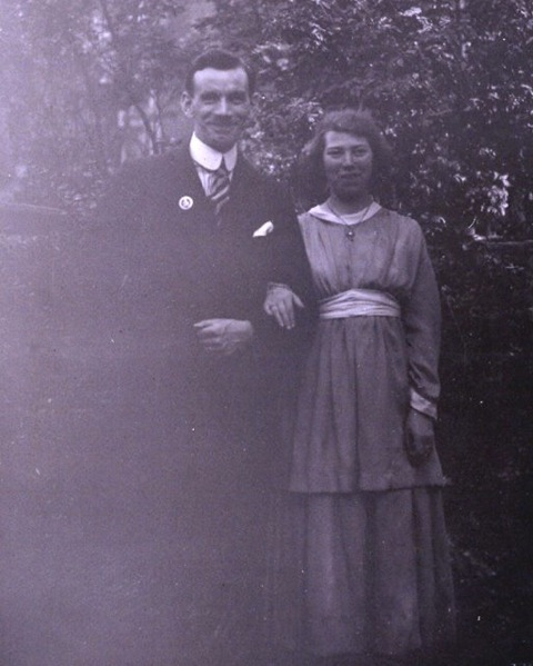 Arthur Lovelock and Wife